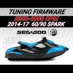 Tune firmware for 2014-2017 SeaDoo 60/90HP SPARK BOSCH ME17 8 5